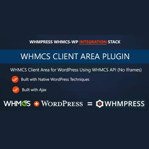 WHMPress WHMCS Client Area for WordPress
