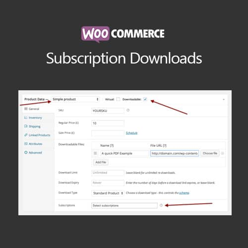WooCommerce Subscriptions Download