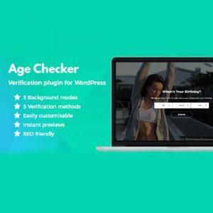 Age Checker for WordPress