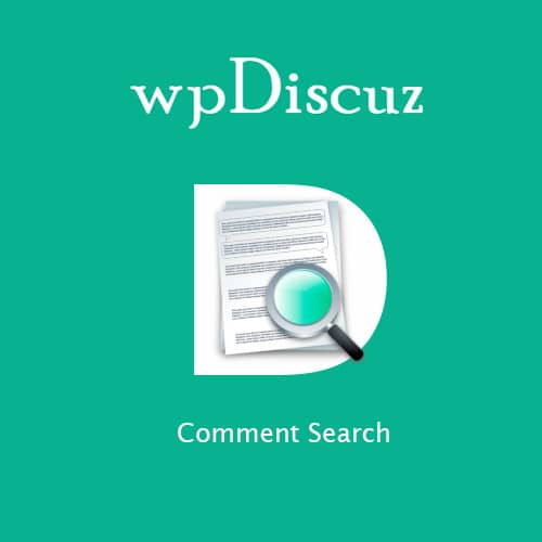 wpDiscuz Comment Search